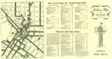 Soldier's Map of Atlanta: for Men and Women of the Armed Forces, circa 1950s