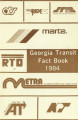 Georgia Transit Fact Book, 1984
