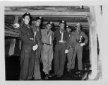 Tour group at Consolidation Coal Company's Mine 32 in Owens, West Virginia, 1952-07-15