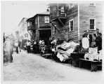 Union miners evicted from company housing at Scott's Run in Osage, West Virginia, circa 1920s