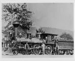 One of the earliest coal-burning locomotives on the Erie Railroad, circa early 1860s