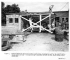 Hoisting motor and winch used at Moore shaft during investigation, 1957-09-23