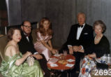 Ginger and Johnny Mercer and friends in formal wear