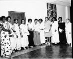 Dorothy Bolden and others at Maids Honor Day event, circa 1970s