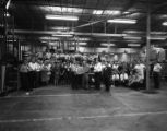 Dittler Brothers employees in the warehouse, 1967