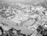 Coca Cola Bottling Company aerial view