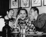 Margaret Whiting at the Brown Derby resturant