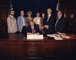 Georgia Bluegrass Month signing ceremony