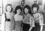 Virginia Sutton, Susan Tomes, Debbie Rhodes and Marjorie Rhodes