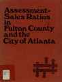 Assessment-sales ratios in Fulton County and the City of Atlanta