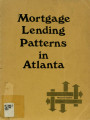 Mortgage lending patterns in Atlanta