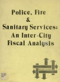 Police, fire & sanitary services