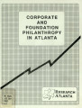 Corporate and foundation philanthrophy in Metro Atlanta