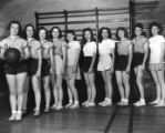 Women's Basketball Team, University Extension Center in Atlanta, early 1940s