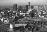 Aerial view of Atlanta, 1978