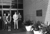 William Russell Pullen Library dedication, 1975