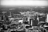 Aerial view of Atlanta, 1976