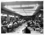 Students in the Georgia State College Library in Sparks Hall, circa 1955