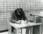 Georgia State University library card catalog