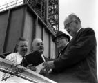 W. J. Usery, George L. Watkins, Roy Siemiller, and Paul Styles at the Kennedy Space Center, 1965