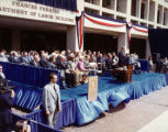 Dedication of the Frances Perkins Department of Labor Building, 1980
