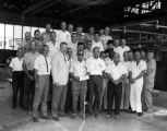 Convair workers with V. A. Minch, 1967-06-30